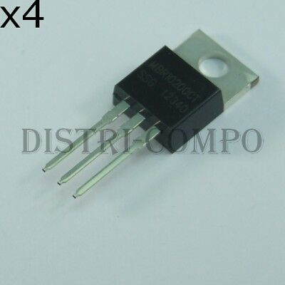 to-220ac-2 250V On Semiconductor Diodo mbr40250g 40 A veloce