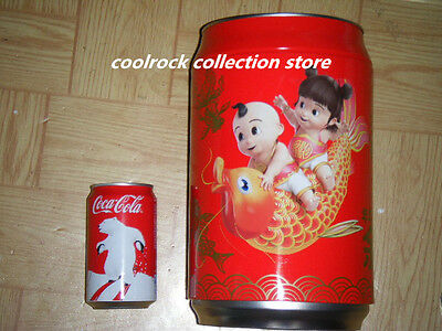 2016 China coca cola BIG SIZE new year coke can design store can 30cm