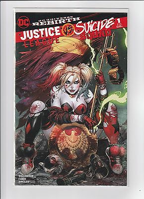 JUSTICE LEAGUE vs SUICIDE SQUAD 1 UNKNOWN TYLER KIRKHAM COLOR VARIANT DC