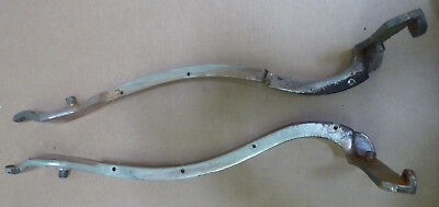 Pair of Theo A Kochs Barber Chair Support Brackets for parts restoration