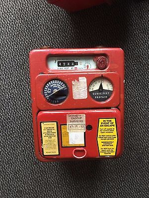£1 Coin Operated Gas Meter