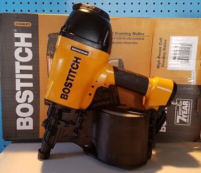 !Price Drop!Make A Solid Offer!BOSTITCH N89C-1 15° Pneumatic Coil Framing Nailer