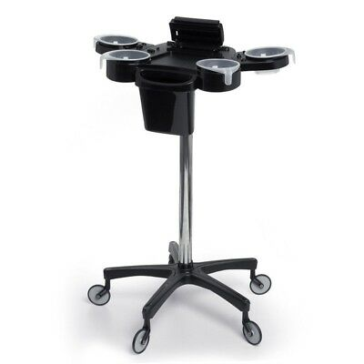 Aphrodite Colouring Workstation Trolley | Salon Equipment Black