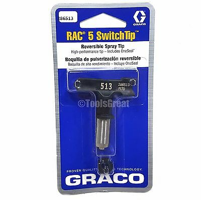 Graco Rac 5 286513 Switch Tip Paint Spray Tip Size 513