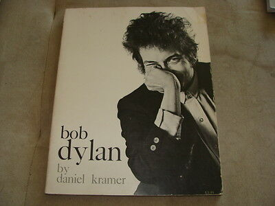 BOB DYLAN, By Daniel Kramer, soft cover 1st Edition 1967, TONS of Photos Within.