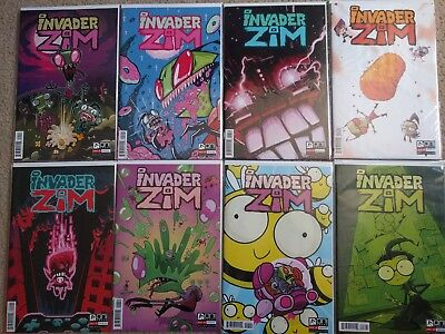 Invader Zim Comic Lot 1st print 1, 2, 3, 4, 5, 6, 7, 8, 1-8 • $18.99
