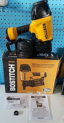 "!Price Drop!Make A Offer! Bostitch 3-1/2"" High-Power Coil Framing Nailer N89C-1"