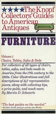 Antique American Furniture - Chairs Tables Sofas Beds / Scarce Book