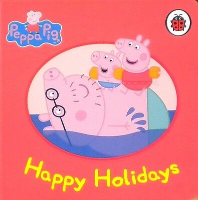 Peppa Pig   Happy Holidays   Children's Board Book  Early Learning  Ladybird New