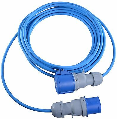 5m Caravan Camping Hook Up Cable 16A Site Extension Lead Electric