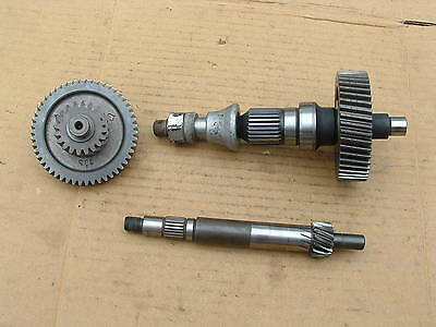 Aprilia Scarabeo 250 Ie Rear Axle Shafts Good Cond