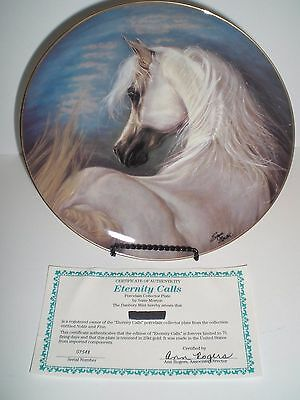 Etermity Calls Horse by Susie Morton Danbury Mint Noble & Free Collector Plate