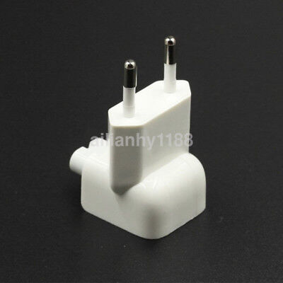 EU AC Power Wall Plug Duck Head For Apple MacBook Pro Air Adapter Charger CA
