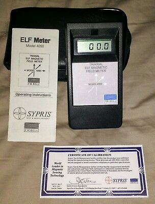 Triaxial ELF Magnetic Field Meter
