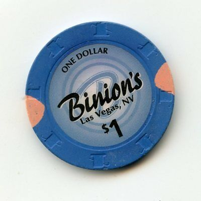 1.00 Chip from the Binions Casino in Las Vegas Nevada