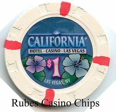 1.00 Chip from the California Casino in Las Vegas Nevada