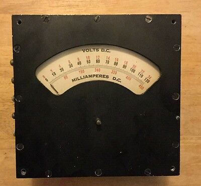 WESTON A.C. VOLTMETER Model 488 , Antique, Vintage