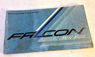 Vintage 1966 Ford Falcon Owners Owner's Glovebox Manual, 3111-FAL-8/66 (6015)