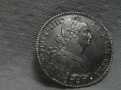 Superb Mexican 1797 MoFM 8 reales