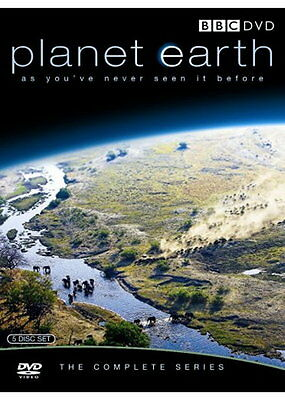 The Planet Earth Part 1 Complete Series 2006 DVD David Attenborough R2+R4 Pal