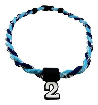 (Light Blue Navy Blue) - Pick Your Number - Twisted Titanium Sports Tornado
