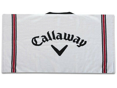 Callaway Cotton Tour Towel White