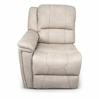 Right Arm Recliner, Cougar 2016, Grantland Doeskin, W/ T700 Chocolate Topstitch