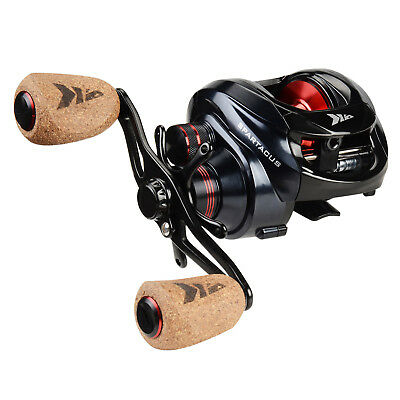 KastKing Spartacus Plus Low Profile Baitcaster Reel High Speed Fishing Reel