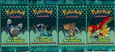 Pokémon 1 Booster Skyridge Deutsch OVP sealed - Charizard Celebi Ho-Oh Umbreon?