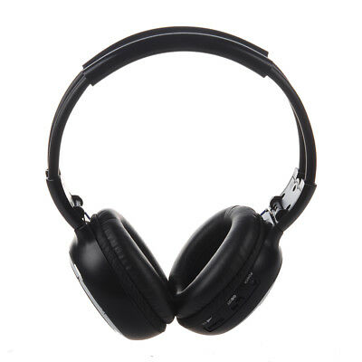 SODIAL(R) 6m IR Infrarouge sans fil double canaux casque stereo  Y6K5