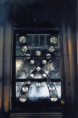 Beveled Leaded Glass and stained glass window