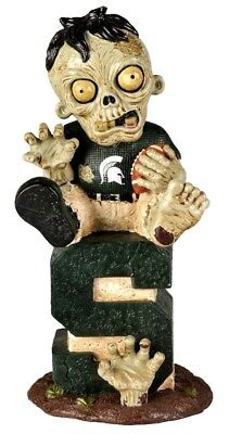 Michigan State Spartans Zombie Figurine - On Logo w/Football. Shipping Included