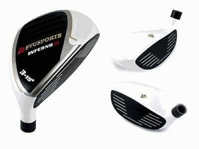 SVG Sports Inferno 3 Hybrid White 19 Degree 17-4 SS Head Only. Brand New