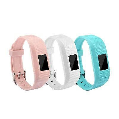(3-Pack Color 3) - Garmin Vivofit 3 and Vivofit JR Fitness Bands With Secure Wat
