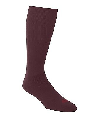 (Large, Maroon) - A4 Team Tube Sock. Shipping is Free