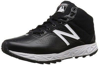 (10.5 4E US, Black/White) - New Balance Men's MU950V2 Umpire Mid Shoe. Shipping