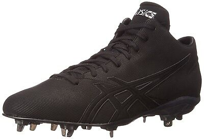 (6.5 D(M) US, Black/Black) - ASICS Men's Crossvictor QT Baseball Shoe. Free Deli