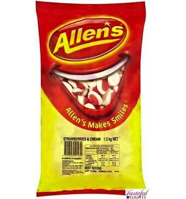 Allens Strawberry Cream 1.3kg