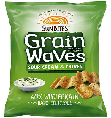 Grainwaves Sour Cream and Chives 28g x 21