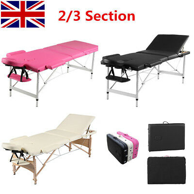 Portable Folding Massage Table Beauty Salon Tattoo Therapy SPA Couch Bed Chair