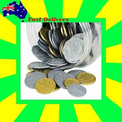 Australian  Play Money: 5 x $2 & $1 + 10 x 50c,20c,10c,5c  50 Teacher Resource