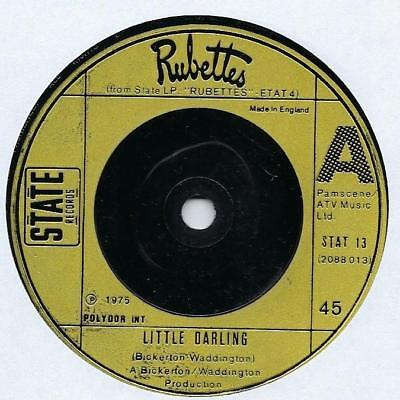 "Rubettes - Little Darling - 7"" Single"