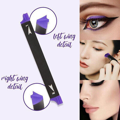 3Stk/ Set Make-up Eyeliner Stempel Werkzeug Make-up Durable Kajalstifte Bürsten