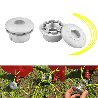Petrol Strimmer Bump Feed Line Spool Brush Cutter Grass Replacement Trimmer Head
