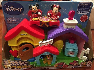Fisher Price Little People Disney's Mickey And Minnie's House