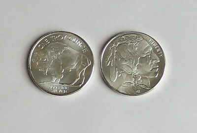 Buffalo 1 Ounce .999 Silver Round New & Shiny Untouched in pouch Collect & Save