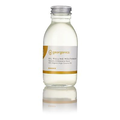 Georganics Ginger Antibacterial Mouthwash - 100ml