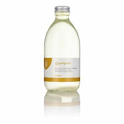 Georganics Ginger Antibacterial Mouthwash - 300ml