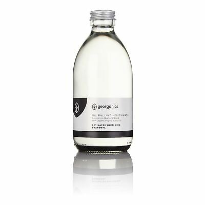 Georganics Activated Charcoal Antibacterial Mouthwash - 300ml