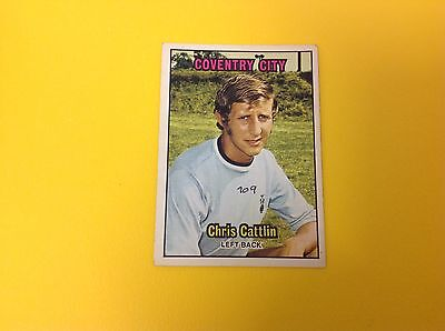 A&bc 1970/71 Orange Back Football Card #109 Chris Cattlin, Coventry City.